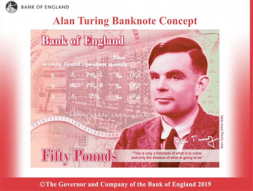 Alan Turing £50 banknote enters circulation | The Coventry